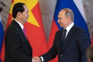 Tổng thống Putin: Chủ tịch nước Trần Đại Quang là người có năng lực chính trị, tầm nhìn xa và uy tín cao trên trường quốc tế
