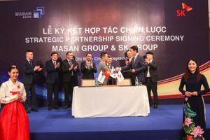 SK Group đầu tư 470 triệu USD vào Masan Group
