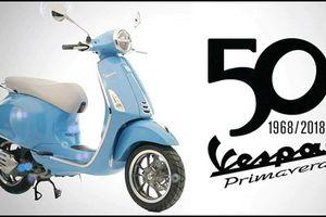 Xe 'dành cho giới trẻ' Vespa Primavera tròn 50 tuổi