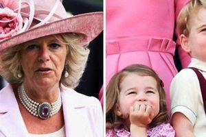 Không phải là 'bà nội', Hoàng tử George và Công chúa Charlotte gọi bà Camilla bằng cái tên kỳ lạ
