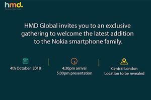 Ngày 4/10: HMD Global ra mắt smartphone mới
