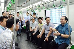 Hà Nội đề nghị Bộ GTVT sớm bàn giao đường sắt Cát Linh - Hà Đông cho thành phố