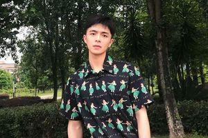 Gương mặt đáng yêu của hot boy Vương Thiên Bảo