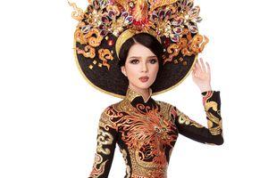 Thúy Vi đạt á quân trang phục dân tộc tại cuộc thi Hoa hậu châu Á-TBD