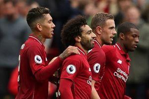 Salah giải hạn bàn thắng, Liverpool độc chiếm ngôi đầu bảng