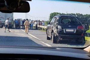Vụ tài xế xe Lexus bị đâm tử vong khi CSGT yêu cầu dừng xe trên cao tốc: Đại diện doanh nghiệp bức xúc