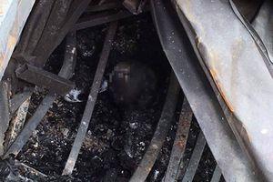 2 thi thể trong vụ cháy gần Viện Nhi: Tình tiết mới