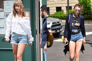 7 cách mặc short jeans đẹp ngày thu