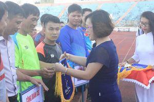 14 đội dự giải bóng đá công đoàn cơ sở khối chính quyền 2
