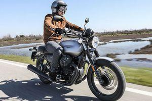 Cận cảnh Moto Guzzi V7 III Rough 2018 giá 423 triệu đồng