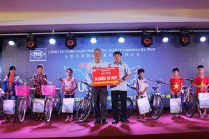 400 suất học bổng cho học sinh giỏi vượt khó Hà Tĩnh