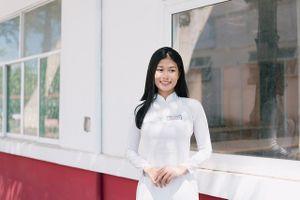 Hành trình gian nan giảm 20 kg của gương mặt Nữ sinh áo dài Việt 2018