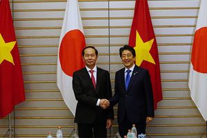 Chủ tịch nước Trần Đại Quang đã cống hiến hết mình cho quan hệ Việt - Nhật