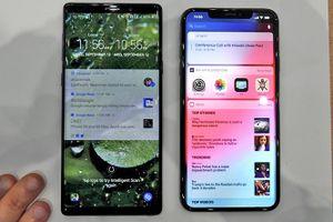 iPhone Xs Max 'so găng' cùng Galaxy Note 9