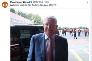 Sir Alex Ferguson trở lại sân Old Trafford xem M.U thi đấu