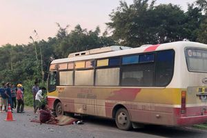 Xe máy tông trực diện xe buýt, nam thanh niên tử vong tại chỗ