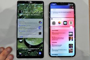 iPhone Xs Max 'so găng' cùng Galaxy Note 9