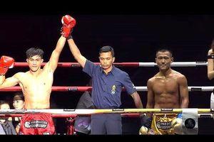 'Độc cô cầu bại' Duy Nhất hạ võ sĩ Trung Quốc ở giải châu Á