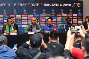 HLV Fachry Husaini quyết tâm đánh bại U.16 Việt Nam để giành vé vào tứ kết