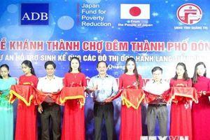 Quảng Trị đưa vào hoạt động chợ đêm Đông Hà do Nhật Bản tài trợ