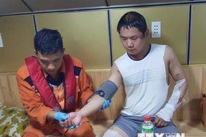Cứu thành công thuyền viên nước ngoài bị bỏng nặng toàn thân