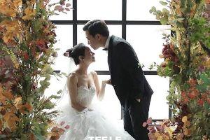 Hé lộ bức ảnh cưới đầu tiên của Nhã Phương – Trường Giang
