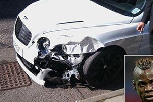 Top 6 sao sân cỏ thoát chết hú vía sau tai nạn giao thông