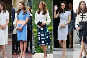 Ai bảo giàu như Hoàng gia Anh sẽ không mặc lại đồ cũ, cứ xem Công nương Kate sẽ rõ