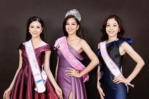 Đọ sức hút của Hoa hậu Việt Nam 2018 Trần Tiểu Vy cùng hai á hậu trên mạng xã hội