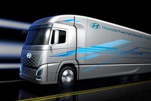 Hyundai đã sẵn sàng bán ra xe tải không ăn xăng