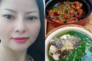 Vợ cực khéo tay, nấu bữa cơm ngon lành chỉ từ một con cá lóc