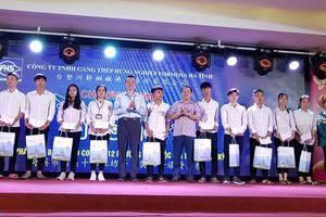 Fomosa Hà Tĩnh: Trao tặng 400 suất học bổng 'Chắp cánh ước mơ' cho học sinh giỏi vượt khó