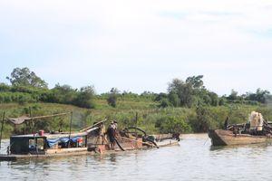 Quảng Trị: Đóng cửa một mỏ khai thác cát, sỏi lòng sông
