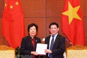 Việt Nam - Trung Quốc đẩy mạnh trao đổi kinh nghiệm kiểm toán Nhà nước