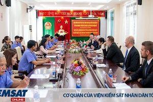 VKSND tỉnh Thừa Thiên Huế tiếp Đoàn đại biểu Viện kiểm sát tối cao Hungary