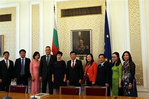 Ban Công tác đại biểu thăm, làm việc tại Bulgaria