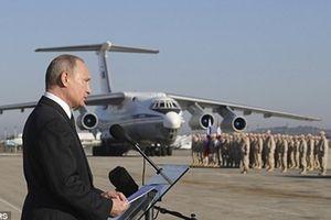 Tổng thống Putin nổi giận vì Syria bắn rơi máy bay Nga