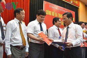 Điều động và bổ nhiệm hàng loạt cán bộ chủ chốt ở Quảng Ngãi