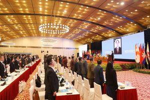Đại biểu dự ASOSAI 14 dành một phút mặc niệm Chủ tịch nước Trần Đại Quang
