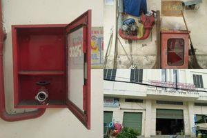 Hệ thống phòng cháy chữa cháy trưng cho có, tiểu thương chợ Văn Thánh, TP.HCM kêu cứu