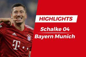 Highlights Schalke - Bayern Munich: Lewandowski lập công