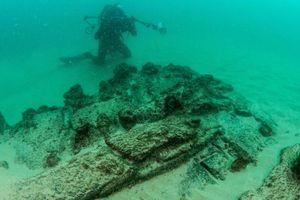 Phát hiện xác tàu đắm cách đây gần 400 năm tại Bồ Đào Nha