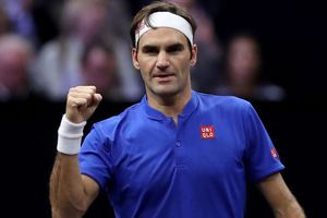 Federer góp công giúp đội châu Âu chiếm ưu thế tại Laver Cup