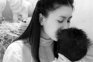Diễn viên Nguyệt Ánh sinh con đầu lòng với chồng Ấn Độ