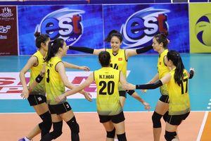 Bóng chuyền nữ Việt Nam vượt qua Hàn Quốc tại giải châu Á