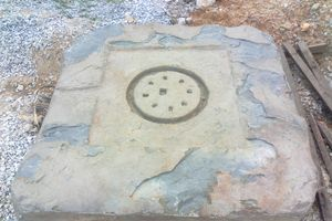 Phát hiện đá có dấu vết Chăm tại Thừa Thiên-Huế
