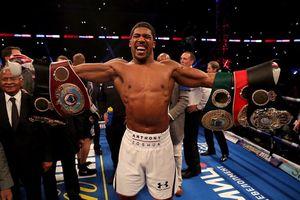Quyền anh hạng nặng thế giới: Joshua làm mãn nhãn 80.000 khán giả tại Wembley