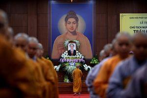 Giáo hội Phật giáo TP.HCM tổ chức lễ tưởng niệm Chủ tịch nước Trần Đại Quang