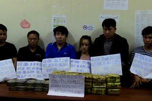 Phá đường dây ma túy xuyên quốc gia, bắt 6 nghi phạm