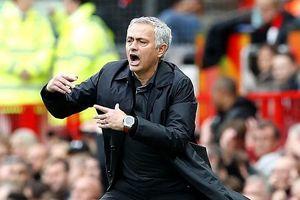 HLV Mourinho: 'M.U chỉ thi đấu 30% khả năng nên hòa là may mắn'